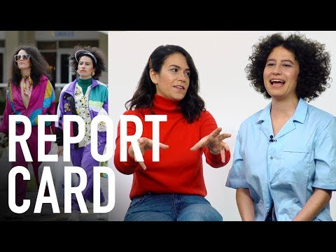 'Broad City' Stars Abbi Jacobson and Ilana Glazer Grade Their Characters' Looks | Report Card | WWD