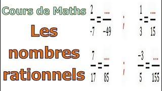 Maths 3ème - Les nombres rationnels Exercice 10