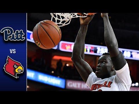 Pittsburgh vs. Louisville Men's Basketball Highlights (2016-17)