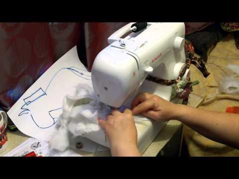 Unicorn,easy sew soft toy