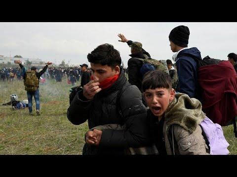 Griechenland: Tränengas bei Flüchtlingsprotesten