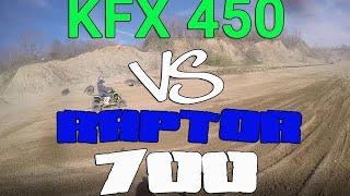 1. Raptor 700R vs KFX 450R
