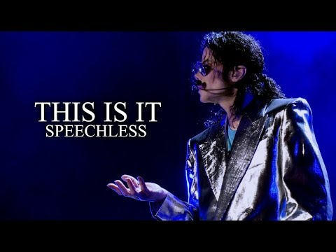 SPEECHLESS - This Is It - Soundalike Live Rehearsal - Michael Jackson