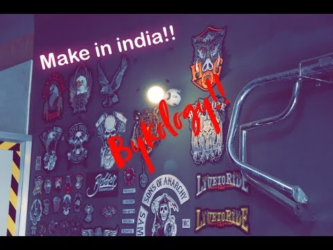 Cheapest And Best Harley Davidson Accessories In The World! |Feat. BYKOLOGY |  Make In India