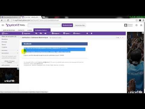 comment modifier mon adresse mail