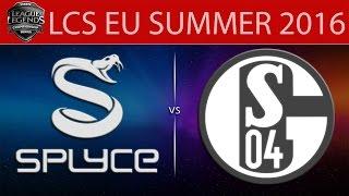 Splyce vs Shalke 04, game 1