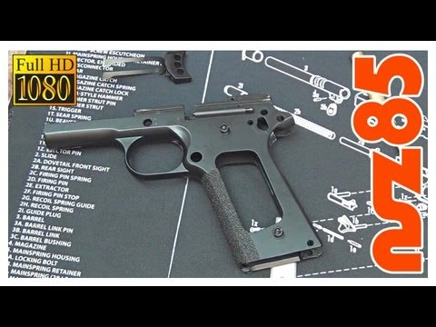 1911 – Detailed Disassembly