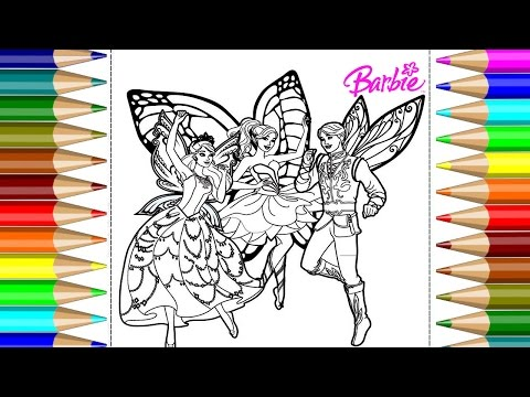 barbie coloring pages apk collections