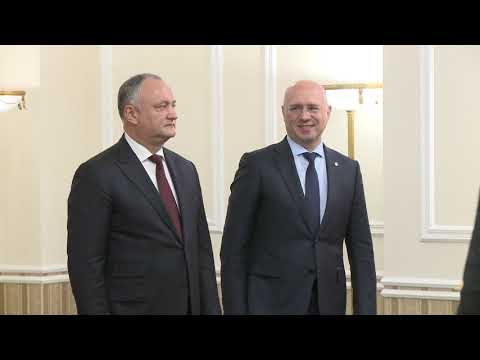 Igor Dodon signed a decree appointing a new Minister of Finance