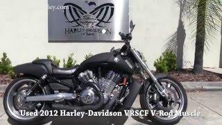 5. 2012 Harley Davidson V-Rod Muscle for sale near me