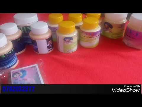 Rosheni na sabuni zangu (my hand made products)