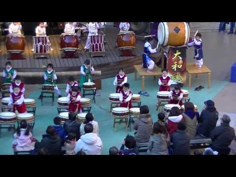 筑西市大和保育園和太鼓演奏   テーマ曲生きる「タタリ神」