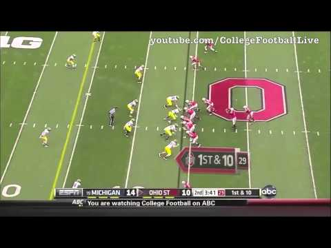 Marcus Hall vs Michigan 2012 video.