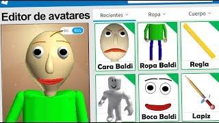 Perfil de Baldi en Roblox | Baldi´s Basics Roblox | Karim Juega
