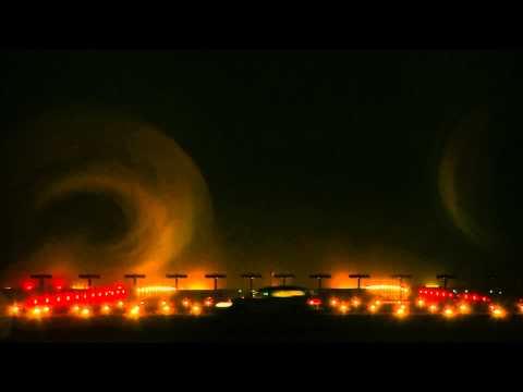 Swiss A340 При Посадке Создаёт Вихри / Видео