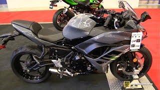 5. 2018 Kawasaki Ninja 650 ABS - Walkaround - 2018 Montreal Motorcycle Show