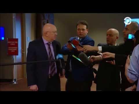 2018 США нанесли авиаудары по коалиции Асада и Путина. Много 200. Посол РФ возмущен. (видео)
