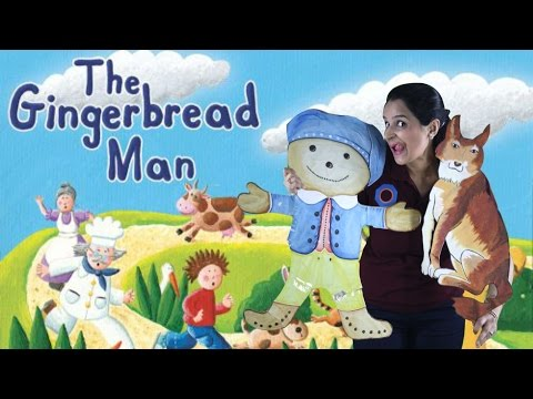 The Gingerbread Man | Story for Children | Rohini Vij