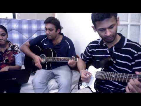 Dilhani - Dilhani Duwani Originally sung by the Sri Lankan Singer Ms. Indrani Perera. The voice of Jeewani Perera. The lead guitarist is Nimesha Balasuriya, the two ac...