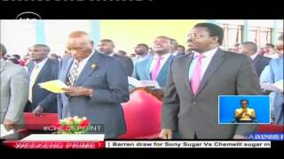 Former President Daniel Arap Moi has called on Christians to be in the forefront in the fight against tribalism and other social vices in the country. Moi sa...