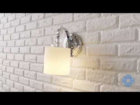 Video for One-Light Polished Chrome Downtown Bath Fixture
