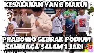 Video Prabowo Gebrak Podium, Besoknya Sandiaga Salam 1 Jari, Pertanda Kesalahan Yang Diakui? Wkwkwk! MP3, 3GP, MP4, WEBM, AVI, FLV April 2019