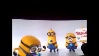 Despicable me 2 Ending Credit Title