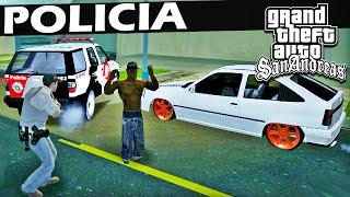 CARRO REBAIXADO É PROIBIDO? - GTA San Andreas