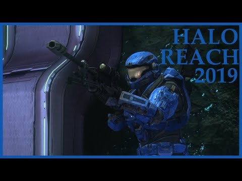 Halo Reach 2019: NEW Ranked Competitive Playlist - First Game - Penance Slayer