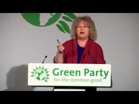 Jean Lambert MEP Green Party conference speech
