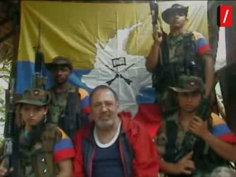 Fuga  de la FARC del ex congresista colombiano Oscar Lizcano