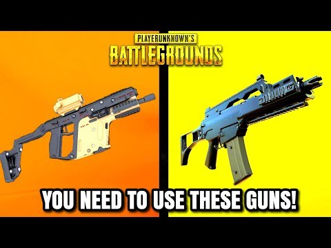 Top 10 BEST GUNS IN PUBG RIGHT NOW! (2019 Updated)