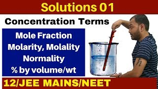 Class 12 chapter 1 II Solutions 01 II Introduction and Concentration Terms (Old Videos Compilation)