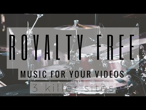 3 of the best royalty free sites for free killer tracks for your video projects | No payments!