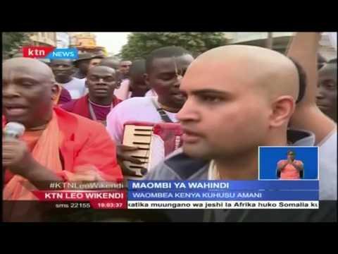 Jamii ya Wahindi wazunguka mjini Nairobi kuombea Amani nchini