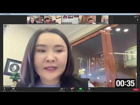 Ц.Мөнх-Оргил: Хууль зүйн туслалцаа үзүүлэх үйлчилгээг цахимжуулахад анхаарах нь зүйтэй