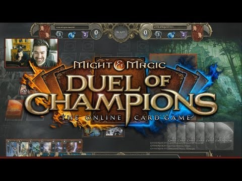 champions - Wanna Play? Signup & get a Base Pack & 10000 Gold w/ this link: https://signup.duelofchampions.com/portal/index/DOC_US_02_0236_09_083_07_0414_15 Angry Joe faces off against Other Joe in support...