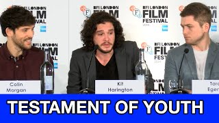 Nonton Kit Harington  Colin Morgan  Taron Egerton Interviews   Testament Of Youth Full Press Conference Film Subtitle Indonesia Streaming Movie Download