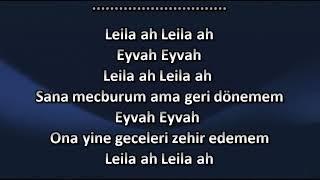 Reynmen Leila Karaoke sözleri