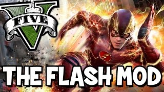 Video THE FLASH MOD (GTA V MOD) | A toi la super vitesse  ! MP3, 3GP, MP4, WEBM, AVI, FLV September 2017