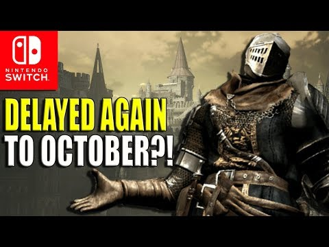 Dark Souls Remastered for Nintendo Switch Prepares to Die in October