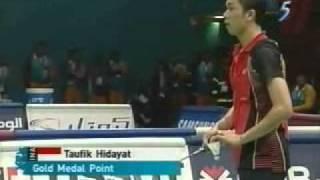 Video 2006 Asian Games MSF Taufik Hidayat vs Lin Dan MP3, 3GP, MP4, WEBM, AVI, FLV November 2018