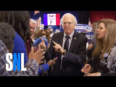 Bern Your Enthusiasm....Larry David kills it again on  SNL