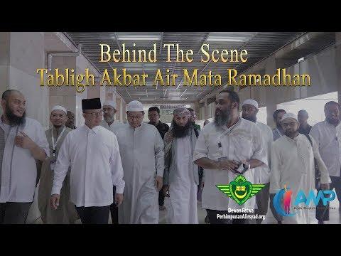 Persiapan Tabligh Akbar Air Mata Ramadhan