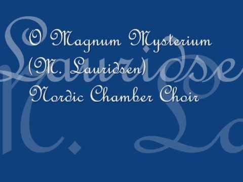 Oh magnum mysterium lyrics
