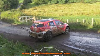sponsored by FAAC NATIONAL AUTOMATION & PACENOTES RALLY MAGAZINE.  Some slippery stages awaited crews on the Ulster Rally. Great entry with crews from the Irish Tarmac Rally Championship & the British Rally  Championship battling it out on the stages.