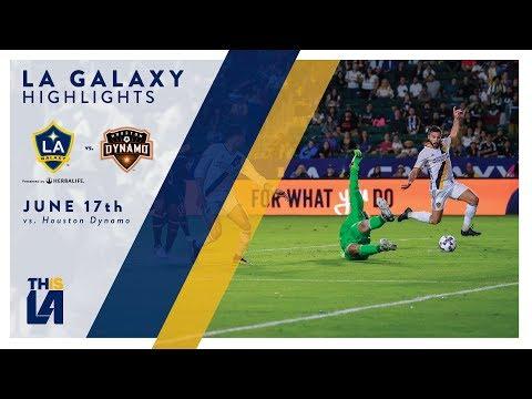 Video: HIGHLIGHTS: LA Galaxy vs. Houston Dynamo | June 17, 2017