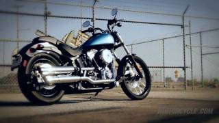 5. 2011 Harley Blackline Review - Harley's latest bad boy goes barely legal
