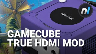 Gamecube True HDMI Mod without input lag