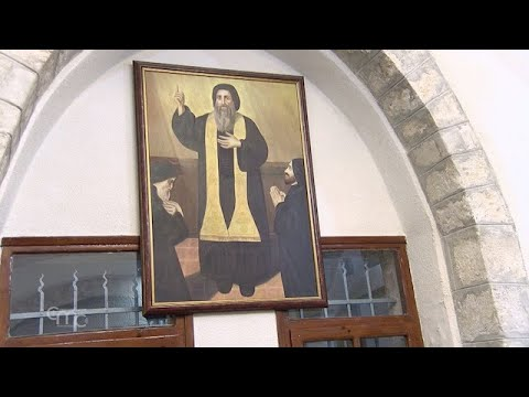 The Maronites celebrate the feast of Saint Maroun in the Holy Land